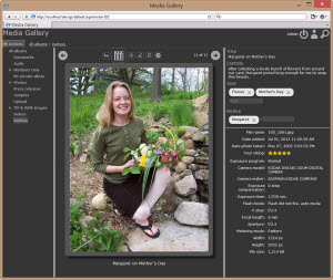Screenshot of Gallery Server Pro